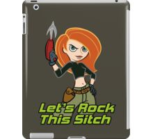 Let's Rock This Sitch iPad Case/Skin