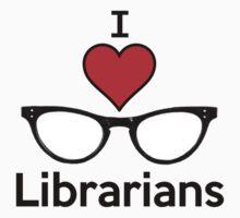 I Heart Librarians by PopCultFanatics