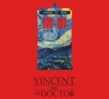 """""""Vincent and the Doctor"""" Kids Clothes"""