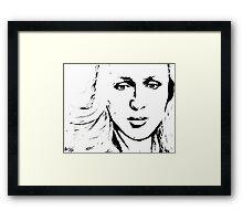 Stella Gibson Framed Print