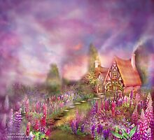 Lupine Cottage by Carol  Cavalaris