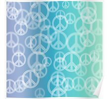 Peace Bokeh Duvet Cover, Poster, Art Print, iPhone Case, Samsung Case, iPad Case, Pillows, Totes Poster