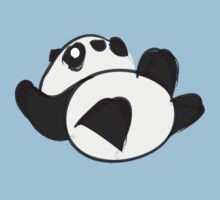 Tumbling Panda Bear Kids Clothes