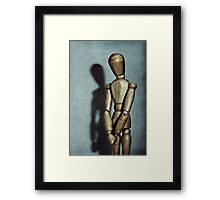 a moment of quiet reflection..... Framed Print
