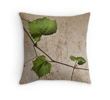 a day among the vines Throw Pillow