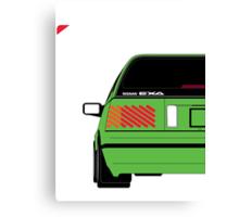 Nissan Exa Sportback - Greeb Canvas Print