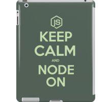 NodeJS Keep Calm and Node On iPad Case/Skin