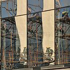 Construction reflected by awefaul