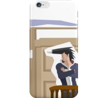 Too Well Dressed for the Witness Stand iPhone Case/Skin