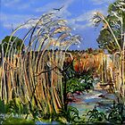 Hidden Life in the Swamp by Gidja Walker (Phragmites australis) by TootgarookSwamp