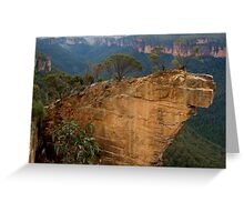 Hanging Rock, Blackheath Greeting Card