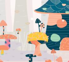 Mushroom Euphoria Sticker