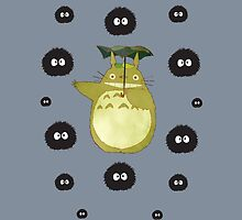 Totoro and Soot Sprites by Lisa Briggs