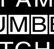 I Am Cumberbatched Sticker