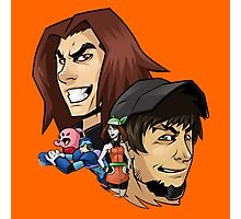 Game Grumps Heads Photographic Print