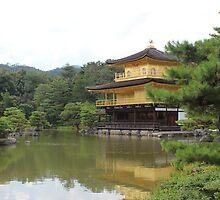 Kinkaku-ji Temple - Kyoto by kestrelxox