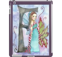 F is for Frederika iPad Case/Skin