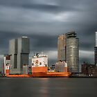 A very special vessel in Rotterdam by hanspeters