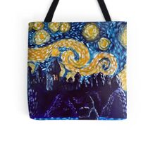 Hogwarts Starry Night Tote Bag