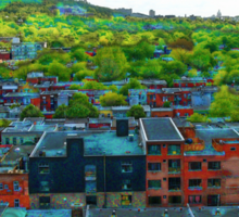Montreal Suburb Sticker