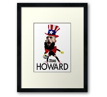 Tim Howard USMNT Framed Print