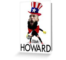 Tim Howard USMNT Greeting Card