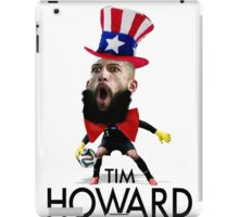 Tim Howard USMNT iPad Case/Skin