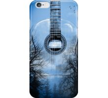 guitar nature  iPhone Case/Skin