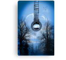 guitar nature  Canvas Print