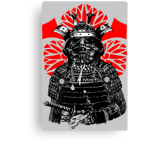The Bushi Trooper Canvas Print