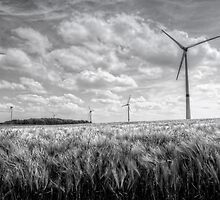 Wind Turbines by Jeremy Lavender Photography