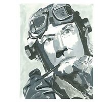 Kenneth Moore as Douglas Bader 2 Photographic Print