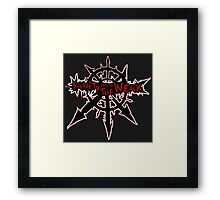 Sanity is for the Weak (warhammer) Framed Print