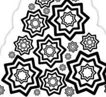 Merry christmas - minimalistic design Sticker