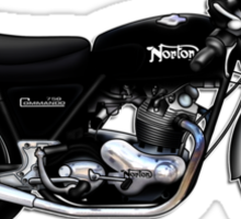 Norton Commando illustrations by Anthony Armstrong Sticker