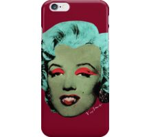 Vampire Marilyn variant 1 iPhone Case/Skin