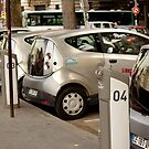 Electric Cars for Rent in Paris by Buckwhite