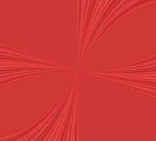 Succulent Red and Yellow Flower Abstract 4. by taiche