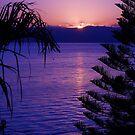 Sunrise Over Sea of Galilee 2 by Carol Clifford