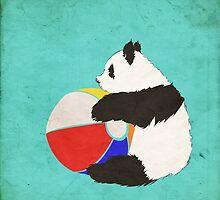 Panda Summer Fun by ieindigoeast