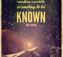 Space Exploration (Carl Sagan Quote) by taudalpoi