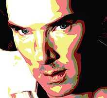 Benedict Cumberbatch by watsonedshezza