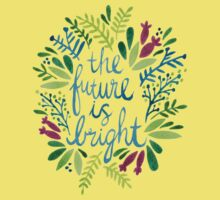 The Future is Bright – Watercolor Kids Clothes