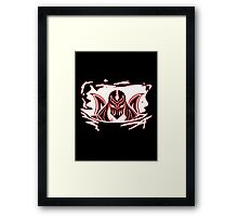 Shadow of Zed Framed Print