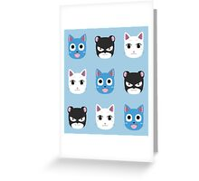 Happy, Charle, Lily V2 Greeting Card