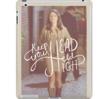 Chasing Life - April Carver/ Keep your head held high iPad Case/Skin