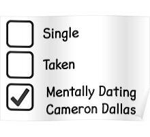 Mentally Dating Cameron Dallas Poster