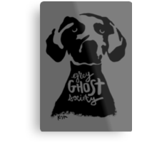 Grey Ghost Society : Light Metal Print
