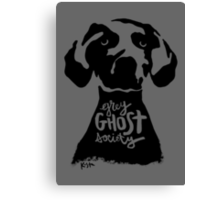 Grey Ghost Society : Light Canvas Print