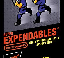 Super Expendables (Print Version) by Rodrigo Marckezini